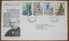 August 1979 First Day Cover; Death Centenary of Sir Rowland Hill