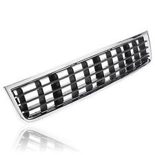 Chrome Front Bumper Center Lower Grille Grill For 2002-2005 Audi A4 B6 Sedan SWG