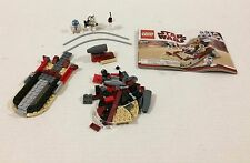 LEGO 8092 Star Wars Luke's Landspeeder Not Complete!