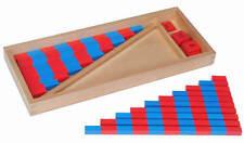 Montessori,  Numerische Stangen (klein) , MS9