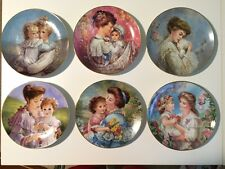 """The Bonds of Love"" Plate Collection by Brenda Burke, set of 6 **Mother's Day**"