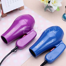 Portable Mini Hair Blow Dryer 850W Traveller Hair Dryer Compact Blower Foldable