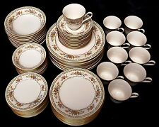 SERVICE FOR 10 (70 pieces) NORITAKE HOMAGE 7236 China 7-pc Dinner Place Settings