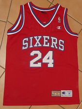 Philadelphia 76ers Bobby Jones #24 NBA Basketball Trikot Jersey M Champion HWC