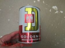 Midland Golden D Distance motor oil quart can, Minneapolis, Minnesota COOP