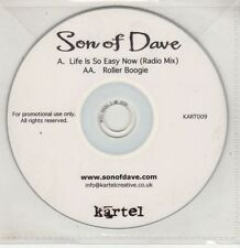 (GU271) Son Of Dave, Life Is So Easy Now / Roller Boogie - DJ CD