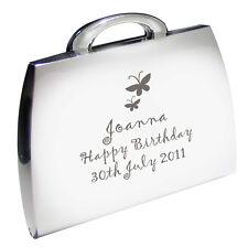 Personalizzata Farfalla Borsetta Specchio Compatto compleanno regali per le donne p0102e29