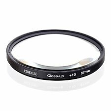 RISE(UK) 67mm Macro Close-Up +10 Close Up Filter for All digital cameras