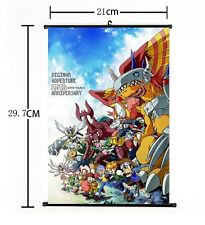 "Hot Japan Anime Digimon Adventure Home Decor Poster Wall Scroll 8""x12"" 01"