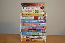 Lot of 12 Mary-Kate and Ashley VHS Tapes Movies Olsen Twins Clamshell Cases