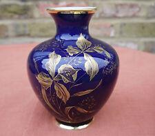 Royal Bavaria Porzellan  KPM Cobalt Vase