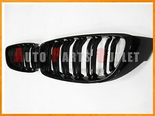 2014up BMW F32 4-Series 428i 435i 2Dr/4Dr M4 Look Shiny Gloss Black Front Grille