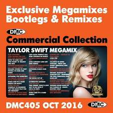 DMC Commercial Collection 405 Club Hits Mixes & Two Trackers DJ Double Music CD
