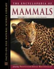 Encyclopedia of Mammals (Facts on File Natural Science Library)-ExLibrary