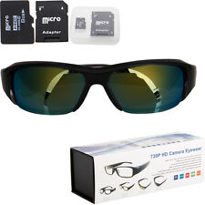 8GB 720P HD Camcorder Sunglasses Camera Mini DVR 1280*720 Eyewear Video Recorder