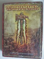 core rules 8th 8E warhammer fantasy battles book French language edition