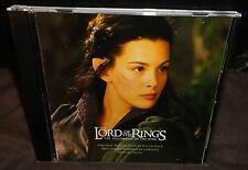 The Lord Of The Rings Fellowship Of The Ring Movie Soundtrack (CD) Howard Shore