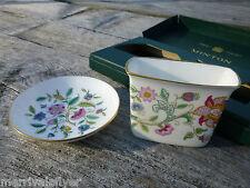 Vintage MINTON HADDON HALL Bone China Porcelain English CIGARETTE SET Chintz
