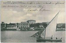 CARTOLINA d'Epoca ROMA - Anzio : ALBERGO VITTORIA 1912