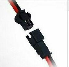2x coppia connettore cavo maschio/femmina per striscia led monocolore 2x10cm