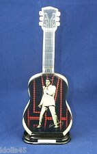 Bradford Exchange Elvis 68 Comeback Special Crystal Classic Guitar A2976