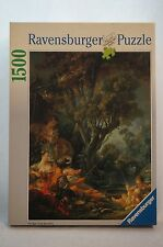 RAVENSBURGER Vintage 1993 Puzzle The Angler 1500 Pieces