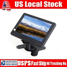 "US 7"" TFT LCD DVD TV Color Monitor Display S702 VGA AV YUV,Audio,Video For"