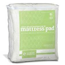 Extra Plush Bamboo Top Fitted Mattress Pad-King