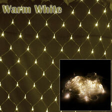 Christmas Xmas Tree Garden Party Fairy String Net Light 3x2M 4x6M Warm White