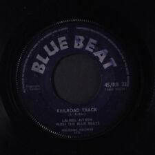 LAUREL AITKEN: Railroad Track 45 (UK, no center) Reggae