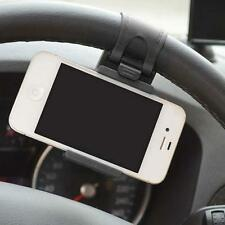 New Universal Car Steering Wheel Clip Mount Holder For Cell Phone Samsung UK