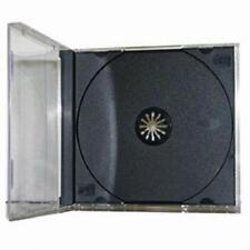 200 Standard CD / DVD JEWEL CASES - BRAND NEW - ASSEMBLED - FREE SHIPPING