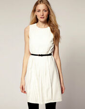 Ted Baker Pleated Front Belted Dress ( Size 2-6US)