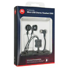 Original NEW Motorola S262 Stereo Handsfree Headset with Mini USB Connector RET