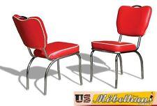 CO-26 Red Bel Air Möbel 2 Stühle Diner Küchenmöbel im Style der 50er Jahre USA