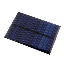 6V 0.6W Solar Power Panel Poly DIY Small Cell Charger For Phone Toy Portable