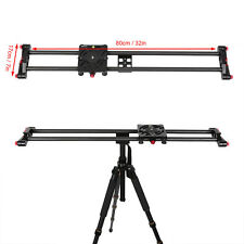 "Pro 32""/80cm Carbon Fiber DSLR Camera Video DV Rail Track Slider Stabilization"