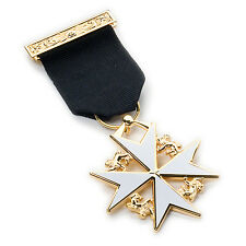 New High Quality Masonic Knight of Malta Breast Jewel with a Jewel Wallet