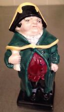 Royal Doulton Bumble Charles Dickens Oliver Porcelain Figurine England 4 3/8""