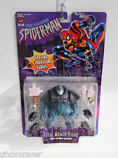 1996 SPECIAL COLLECTOR SERIES THE AMAZING SPIDERMAN (TOTAL ARMOR RHINO)FIGURE