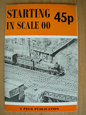 STARTING IN SCALE 00 A PECO PUBLICATION RAILWAY MODEL CATALOGUE