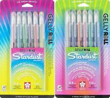 Sakura Gelly Roll Stardust Galaxy & Meteor Glitter Pens - Bold Point - 12 Colors
