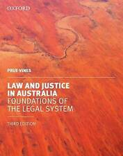 Used Book:  Law and Justice in Australia: Foundations of the Legal System