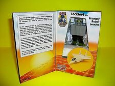 Vtg Super Gobots Guardian Commander LEADER 1 Action Figure stickers GO BOT Box