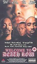 Welcome To Death Row [2001] [VHS], Good VHS, Dr. Dre, Suge Knight, Tupac Shak, L