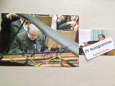 YEFIM BRONFAM In-person signed Autogramm Foto 20x30