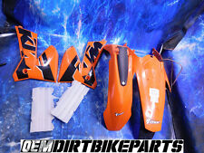 KTM 125 Plastics fender OEM 04 05 06 Accessories Orange 200 250 300 450 525 EXC