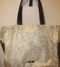 ZAC Zac Posen Eartha Large Shopper Tote Bag, Black / White - NEW!
