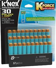 K'NEX KNEX K Force 30 Dart Pack and Target fit all K-Force Blasters 8 Years+ NEW
