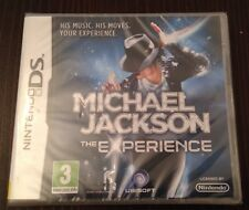 Michael Jackson The Experience Game For Ds Dsi Ds Lite 3Ds Nintendo NEW & SEALED